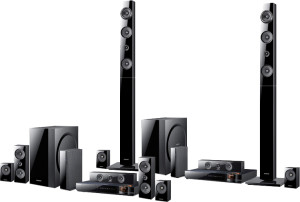Samsung HT E6730W 7.1 Channel 1330-Watt 3D Blu-Ray Home Theater System