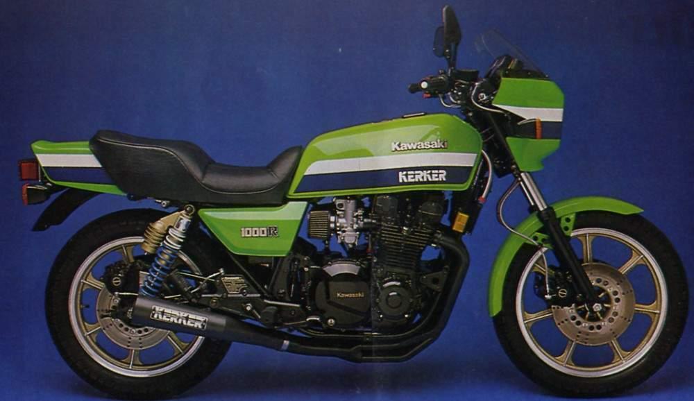 Kawasaki KZ1000R (82)