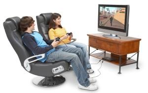 X Rocker Pedestal Video Gaming Chair