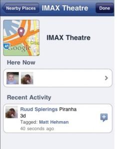 Facebook places Australia