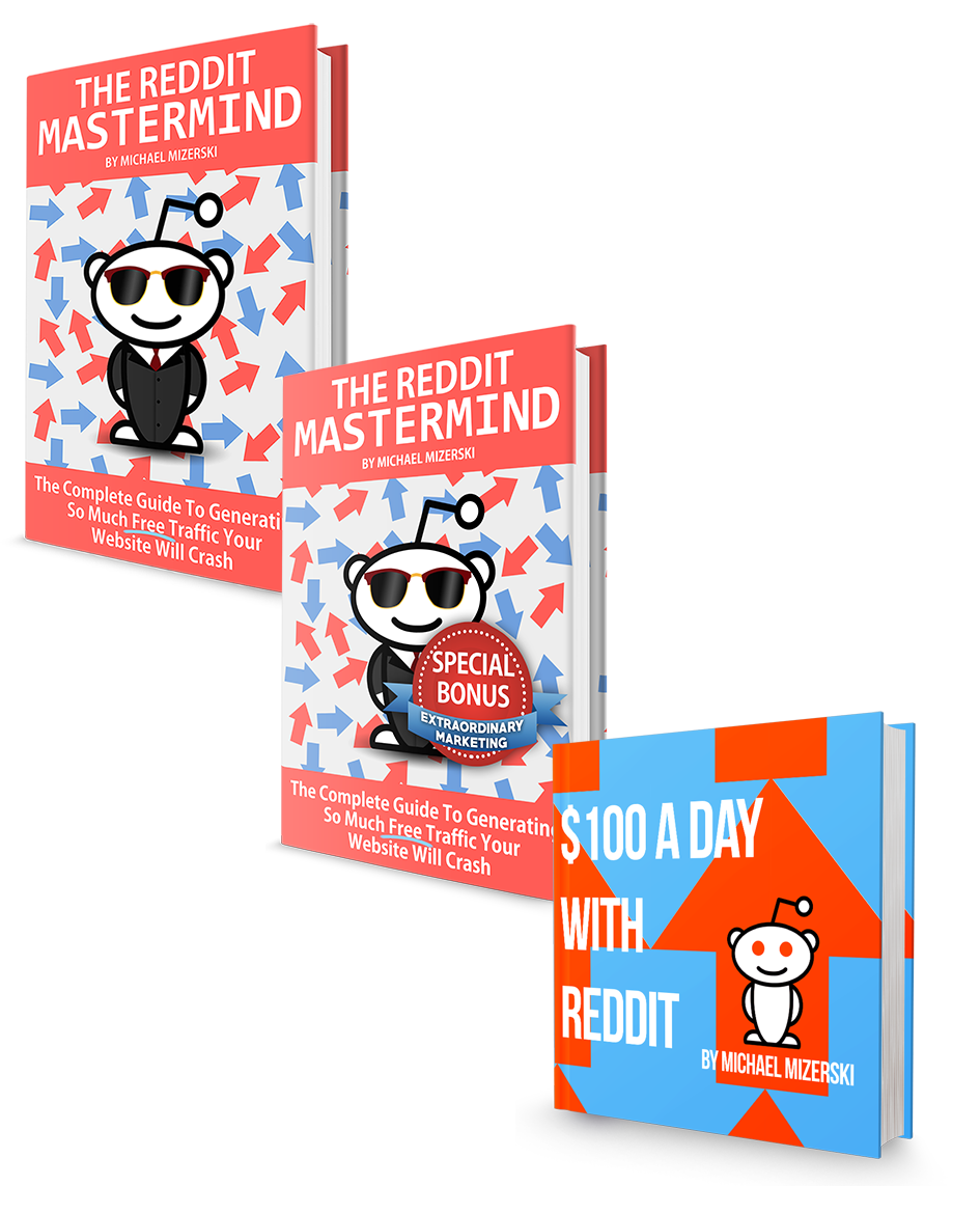 Reddit Mastermind E book Collection PNg - What You'll Be Promoting: