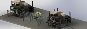Impianti meccanici, galvanici e di rifinitura.