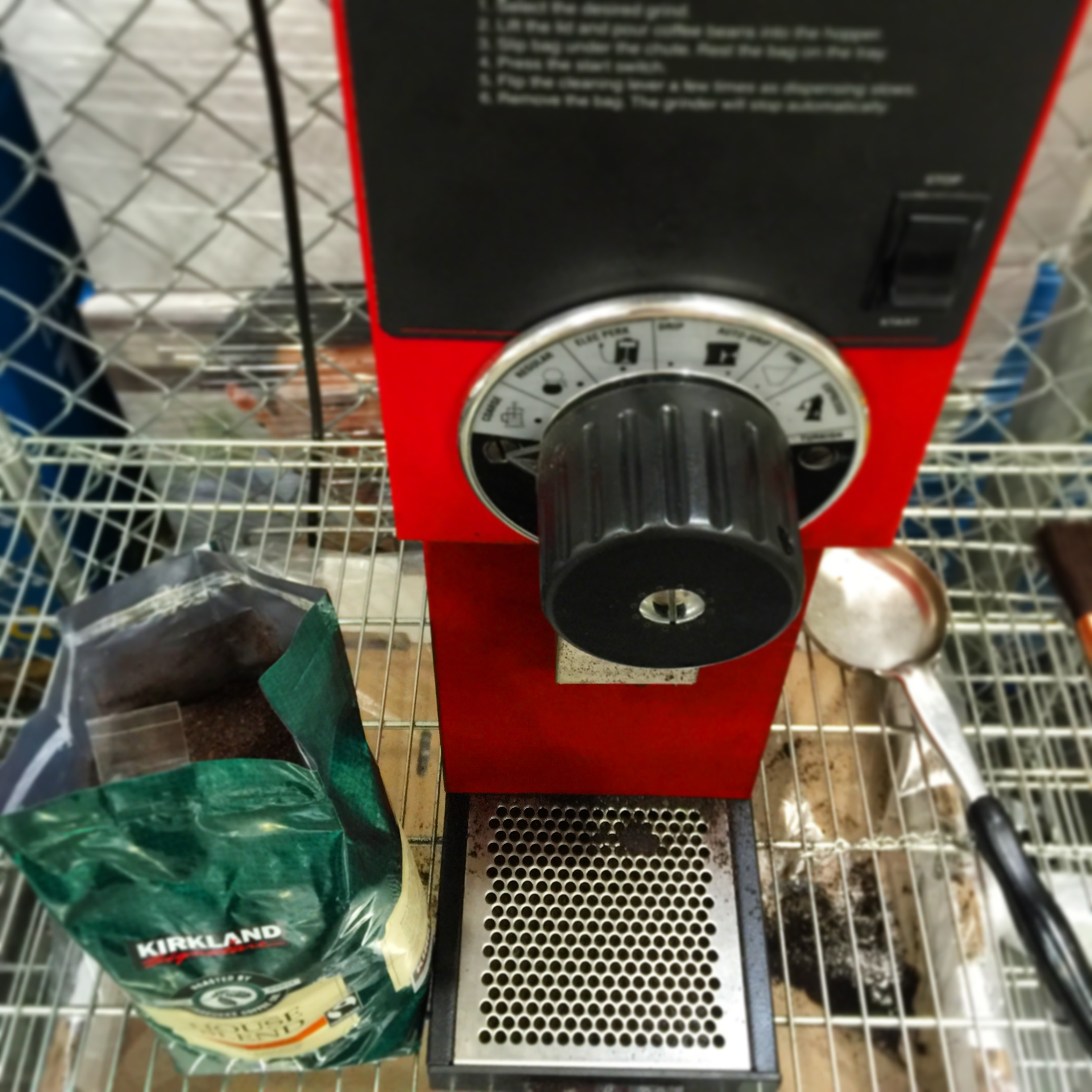 Grinder at Costco