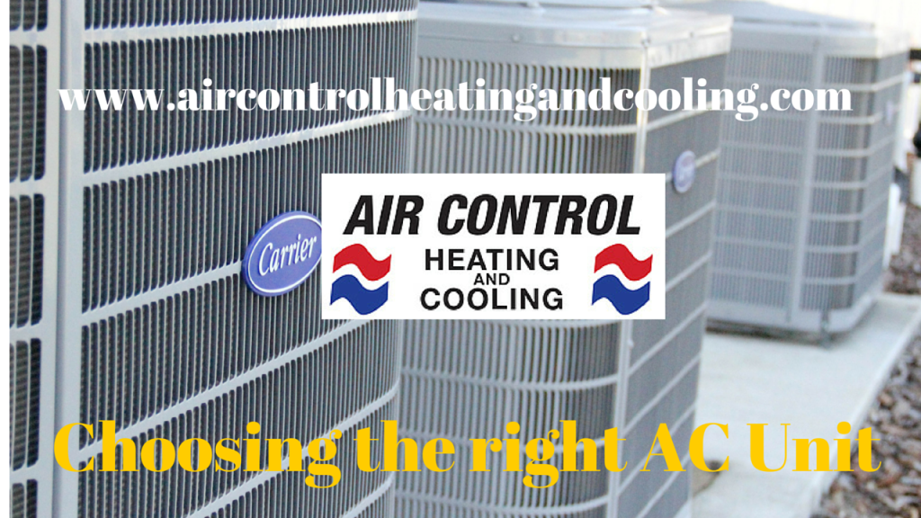 Choosing the right AC Unit