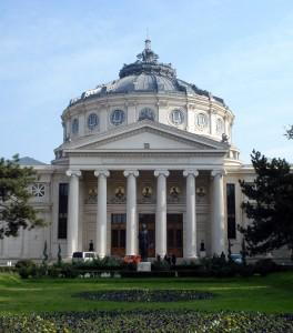 Atheneul Roman the Atheneum in Bucharest landmark by alesia17 freeimages     898900_31228938