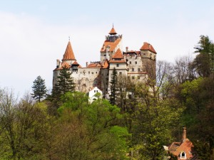 Bran Castle Dracula Castle in Bucharest Romania by Ibogdan at freeimages    779990_41251973