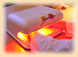 Photopulsation treatment at the Wellness Spa