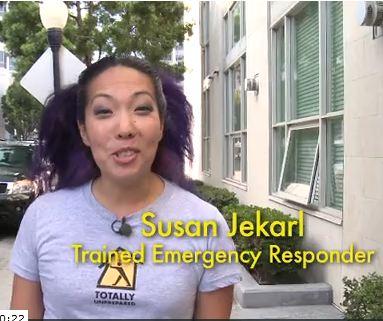 Susan Jekarl hosting Totally Unprepared