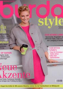 BURDA STYLE Februar 2011 - Cover