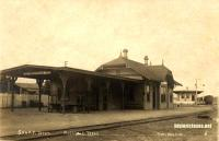 S.A. & A. P. Passenger Depot, Rockdale, Texas early 1900s