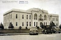 Brazoria County Courthouse, Angleton, Texas 1940s