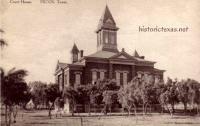 Reeves County Courthouse, Pecos, Texas 19`0s