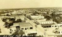 Airview of Main Street, Alice, Texas 1930s