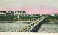 Pier and Hotel, Palacios, Texas early 1900s