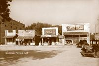 The Square, Glen Rose, Texas 1930s