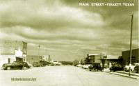 Main Street, Follett, Texas 1950s