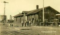 Higgins, Texas Depot 1907
