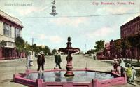 City Fountain, Pecos, Texas 1910s
