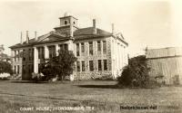 Blanco County Courthouse, Johnson City, Texas 1940s