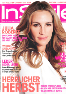 InStyle Oktober 2012 - Cover