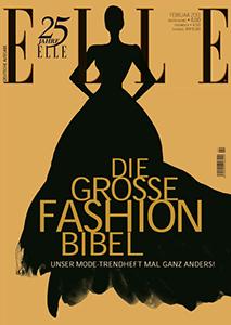 ELLE Januar 2013 - Cover