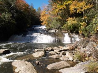 Horsepasture Flowing River