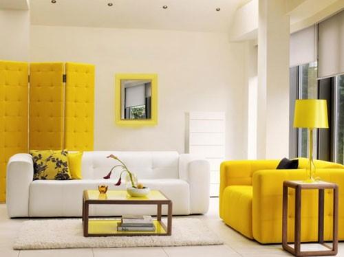 رنگ زرد در نقاشی ساختمان