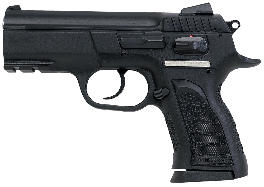 "EAA 999106 Witness P Compact SA/DA 9mm 3.6"" 14+1 Poly Grip/Frame Black"