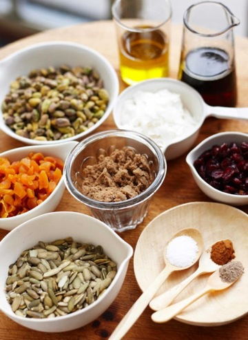 dana gallagher granola ingredients