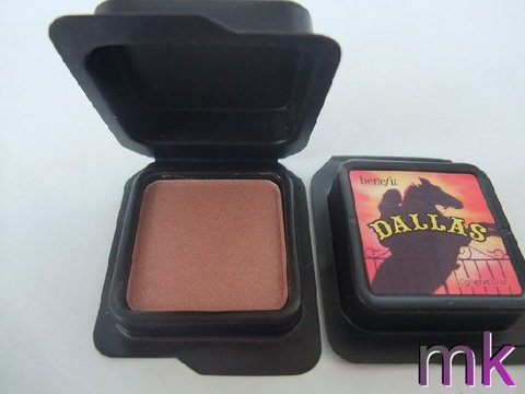 Benefit Blush Dallas Dusty Rose Face Powder Natural-Looking Makeup Online Single Color