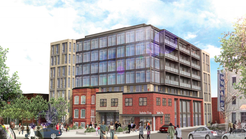 Monument Advances Plans for 7-Story U Street Mixed-Use Project