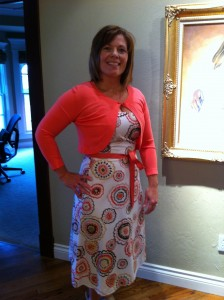 The Easter dress I planned to wear.