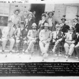 Leaders of the 1910 revolt pose for a photo after the First Battle of Juárez.