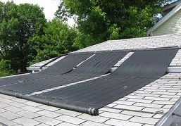 DIY Solar panels for heating your pool