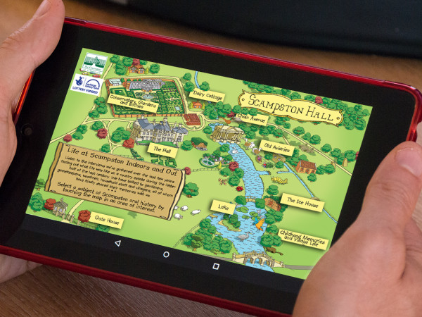 Scampston Hall Android App
