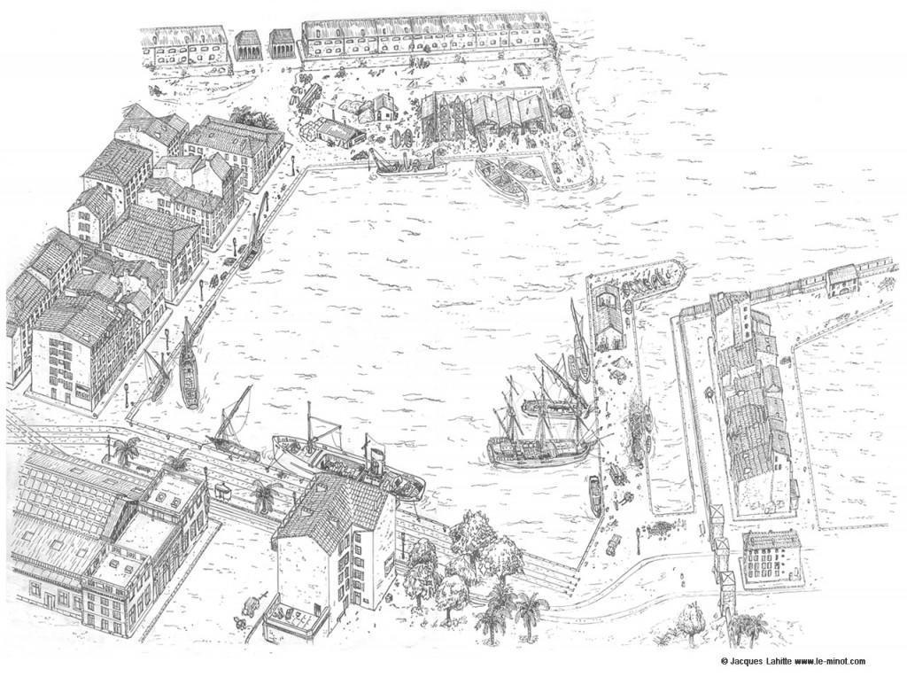 Port Marchand à Toulon