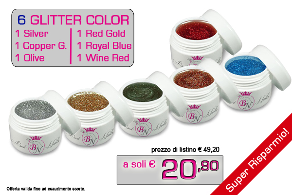 Glitter Colors Pack