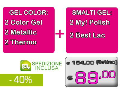 Gel+GelPolish Color Pack