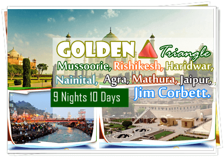 Uttaranchal Tour with Golden Triangle
