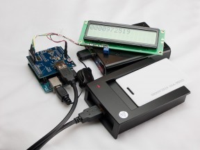Reading RFID tags with Arduino/USB Host Shield