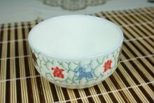特色日用品陶瓷 镁质瓷餐具 家居瓷器 平安吉祥 碗