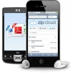 ZipCloud file sync with mobile apps