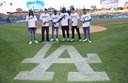 PHOTOS: Goff's First Pitch at Dodgers