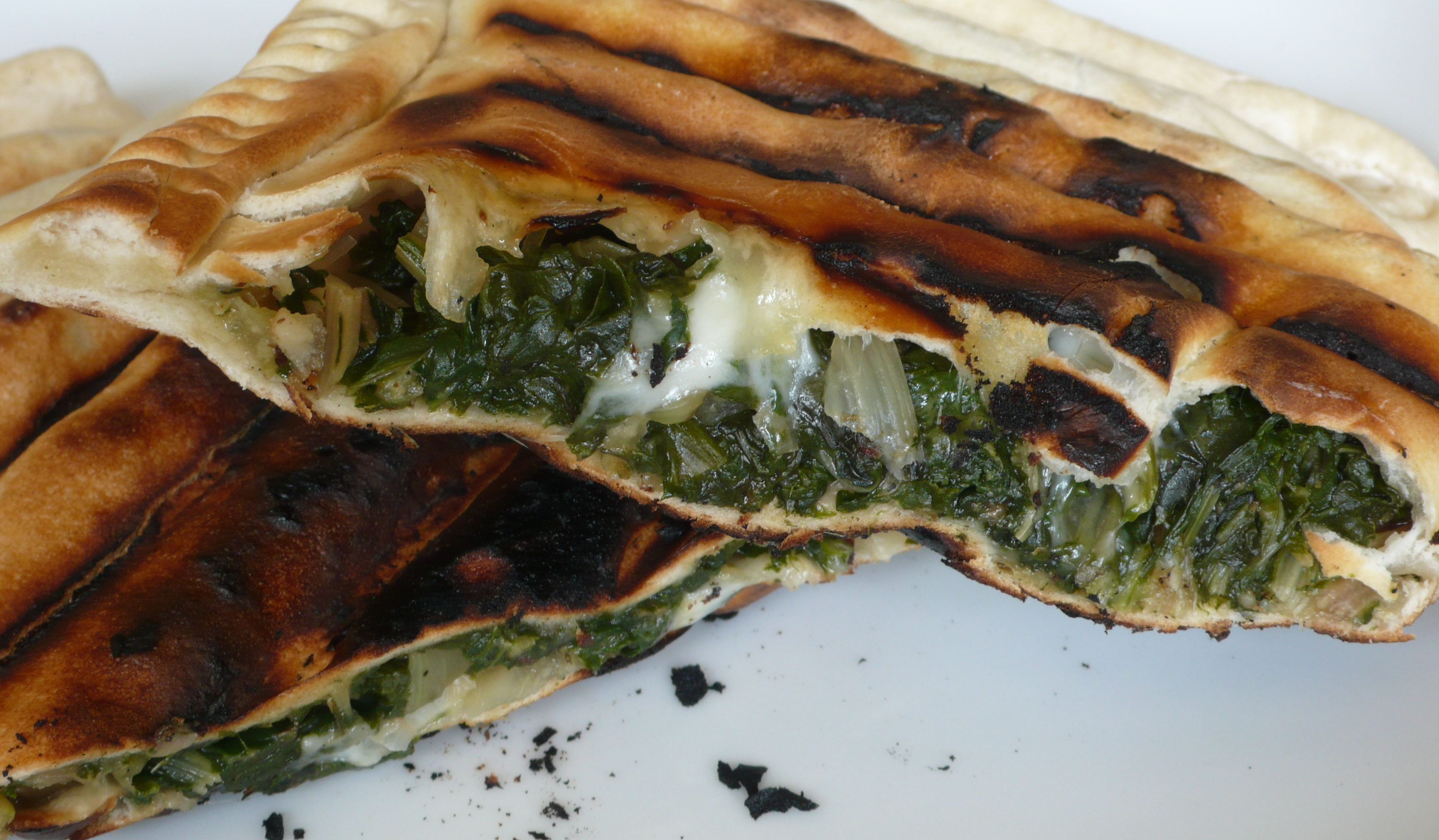 Crescioni - Swiss chard stuffed half moons