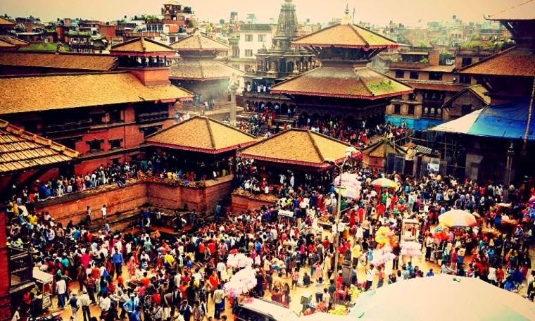 Patan - Krishna festival Nepal
