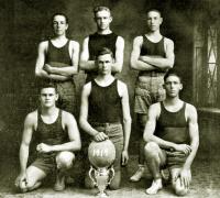 Gonzales, Texas High School 1919 Basketball Team