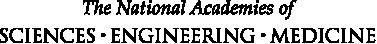 The National Academies of Sciences, Engineering, Medicine