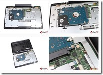 Asus T100 Install SSD swap hdd