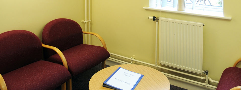 The Interview Room meeting room for hire in Plymouth