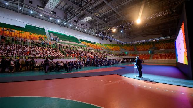 The launch event took place this Tuesday (14 June) at the Future Arena, home of handball and goalball at the Rio 2016 Games.
